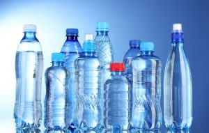 Variety of plastic bottles