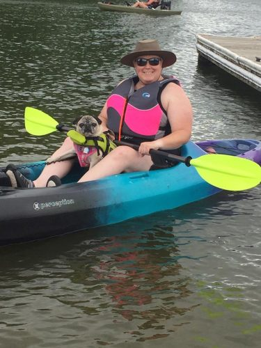 jenny-kayaking-with-her-pug
