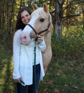 Jessica and horse